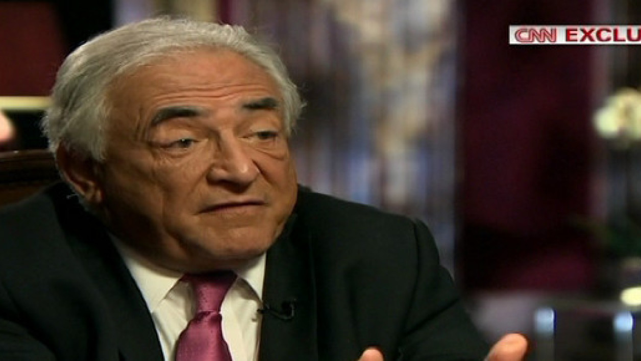 Dominique Strauss-Kahn a donné mercredi une interview exclusive à la chaïne américaine CNN