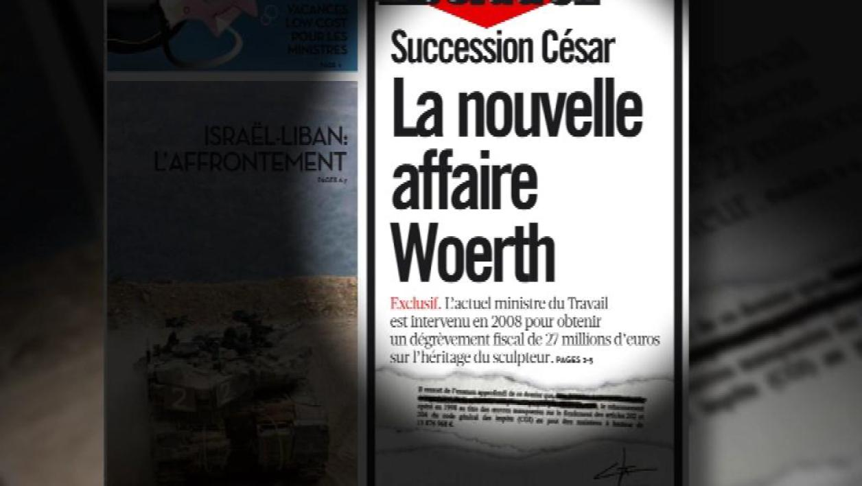 Succession César : Woerth est-il intervenu ?