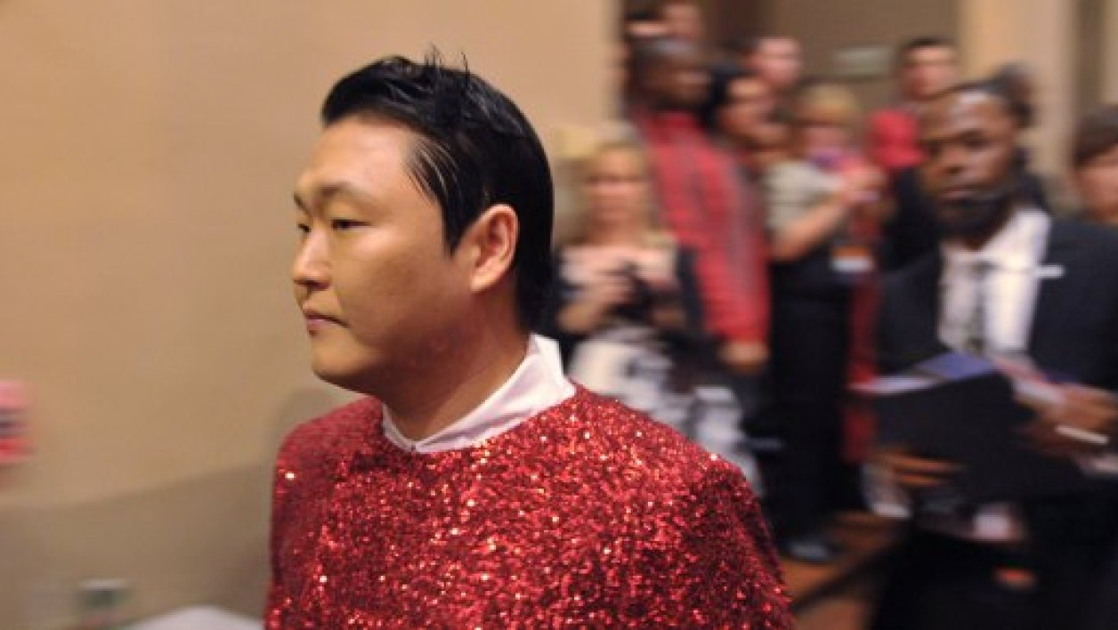 Park Jae-sang, alias Psy, en 2012 à Washington