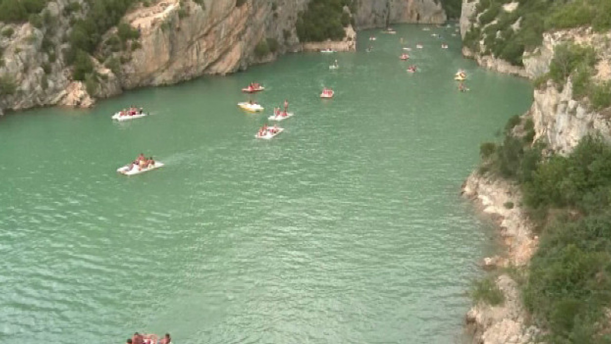 Le lac de Sainte-Croix, dans les Gorges du Verdon. (photo d'illustration)