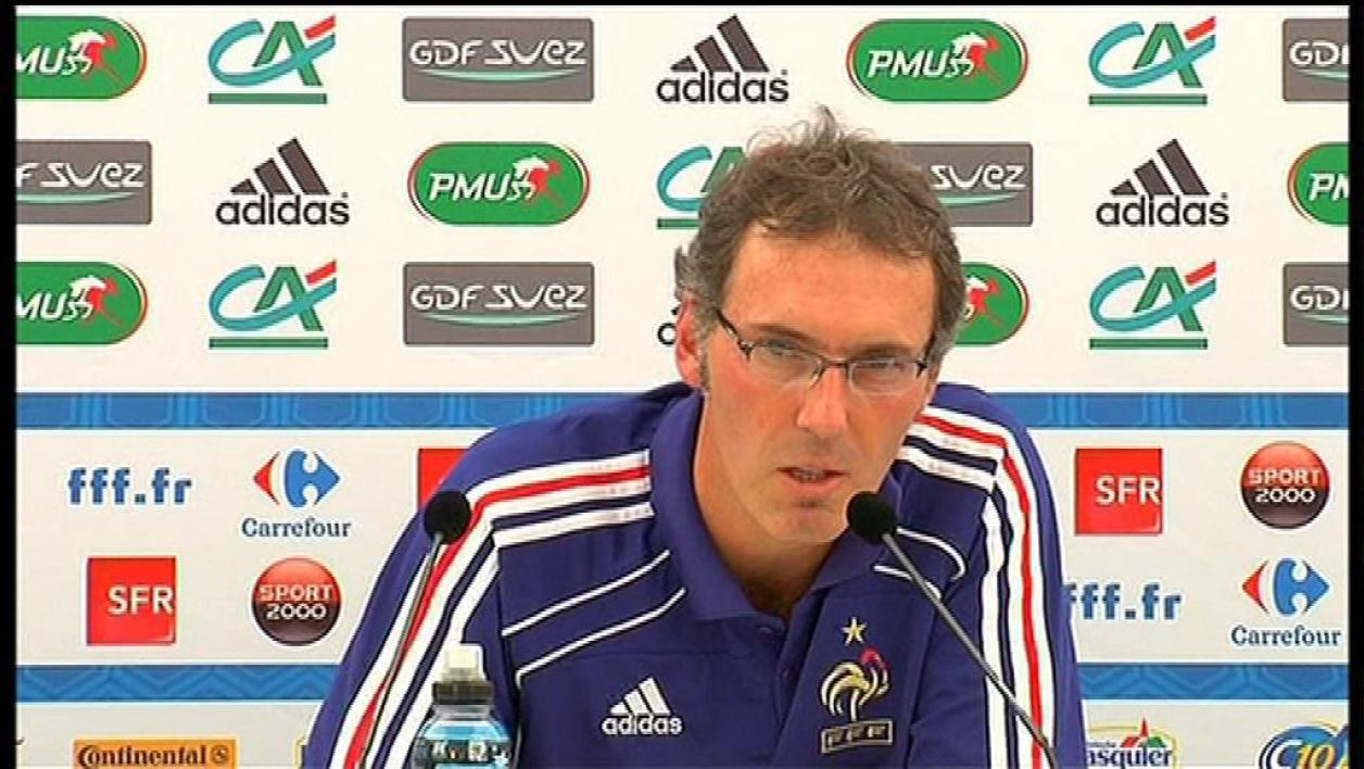 Laurent Blanc explique sa méthode