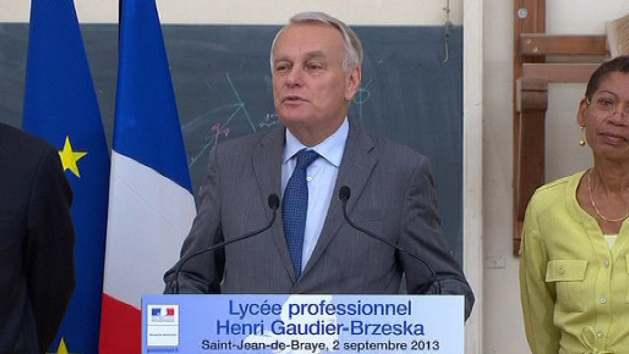 Jean-Marc Ayrault, lundi 2 septembre