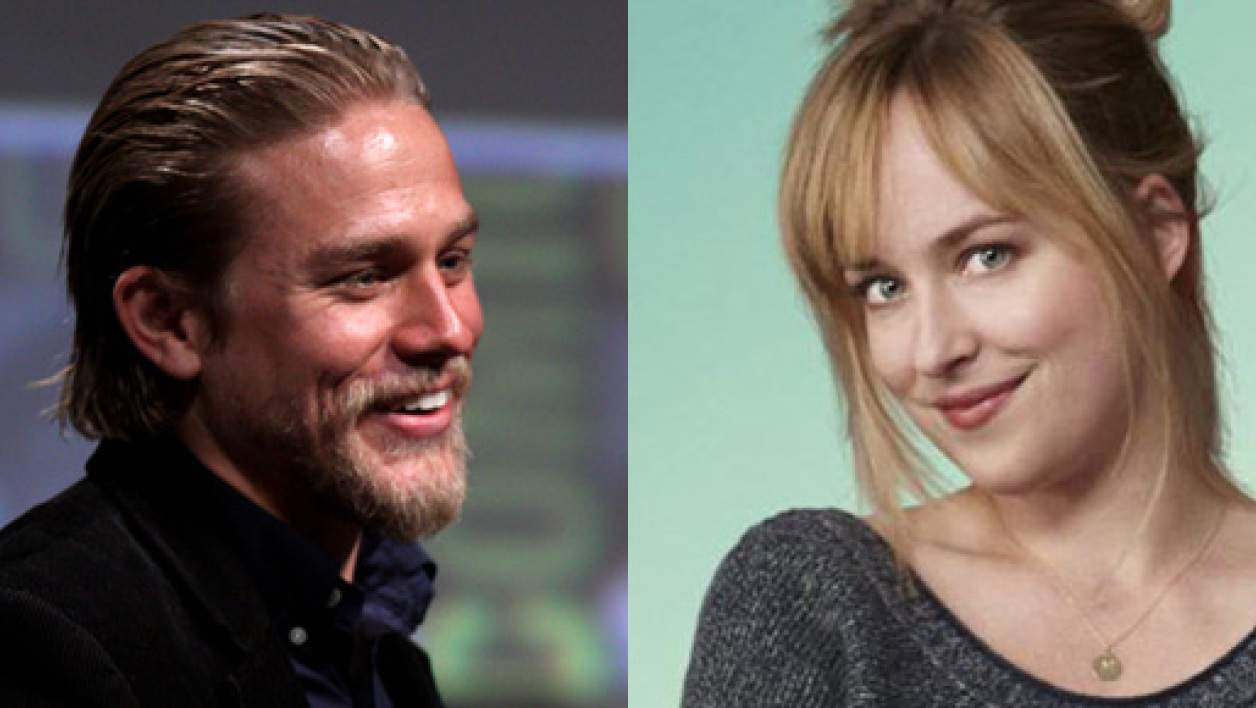"Charlie Hunnam et Dakota Johnson incarneront le couple du film ""50 nuances de Grey""."