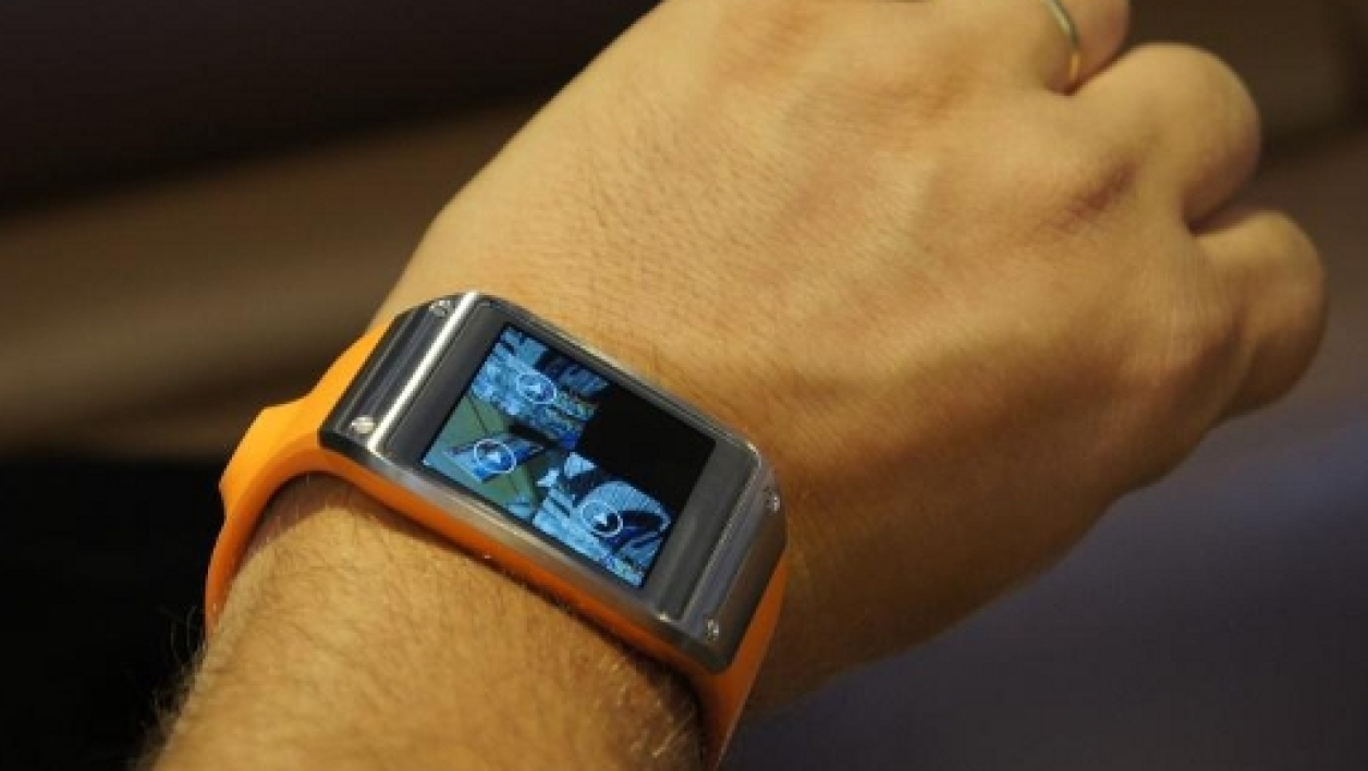 La montre Samsung Galaxy Gear.