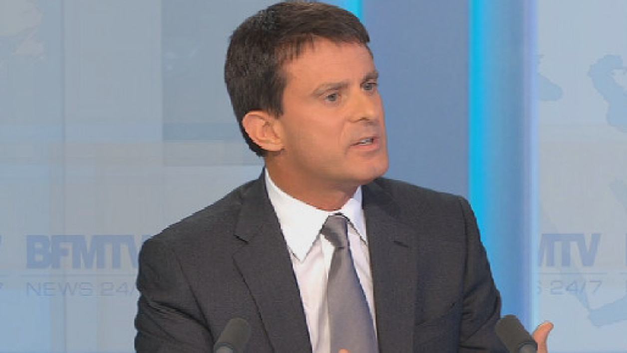 Manuel Valls appelle à un pacte national