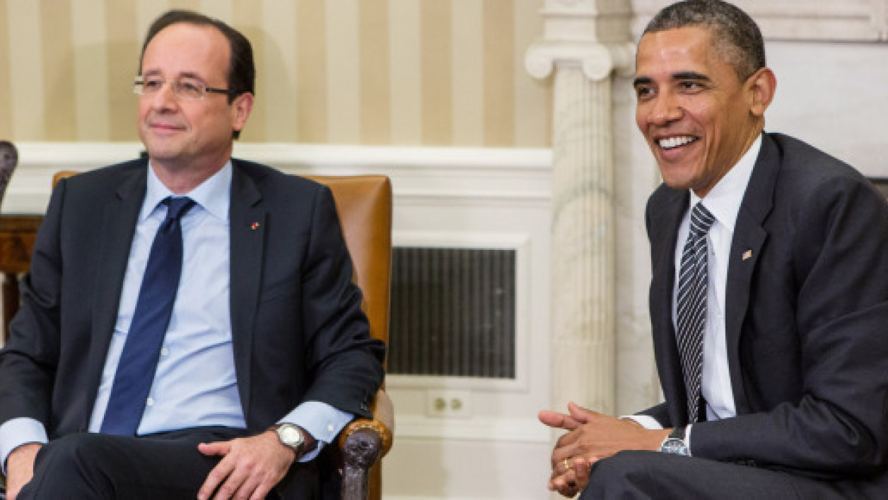 François Hollande et Barack Obama.
