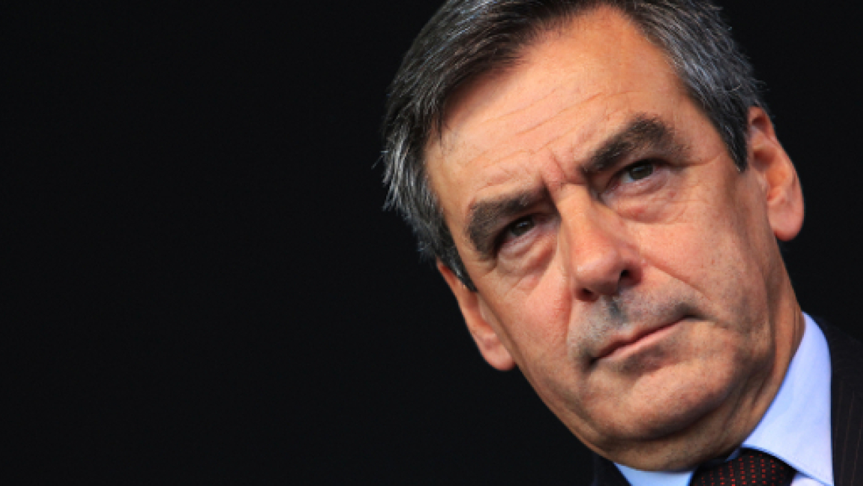 François Fillon lors d'un meeting à Nice, le 13 septembre 2013.