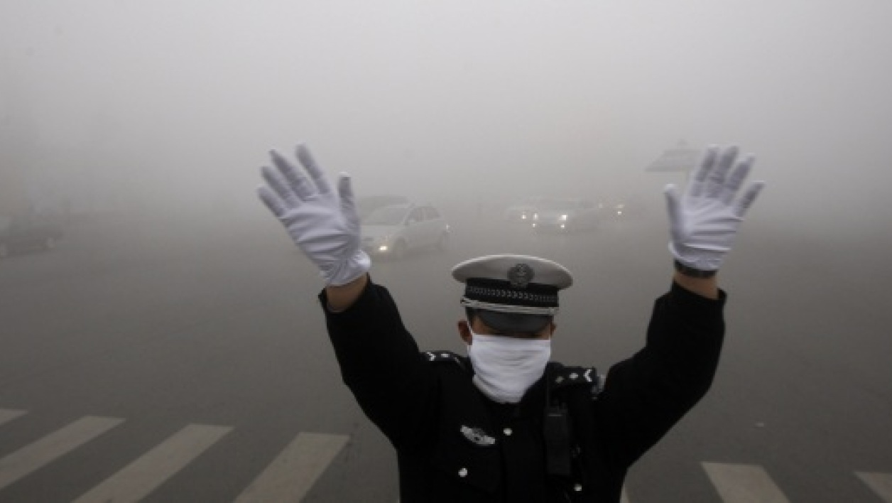 La Chine est bloquée par la pollution