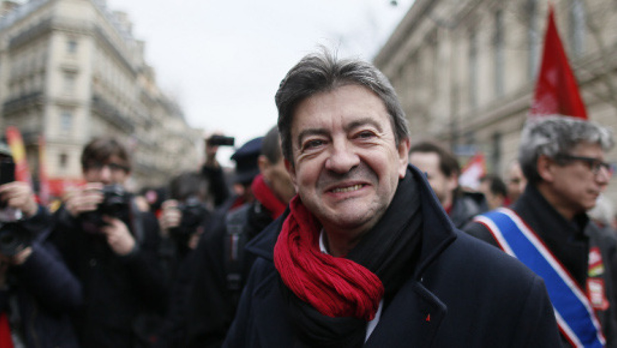 Jean-Luc Mélenchon (illustration)