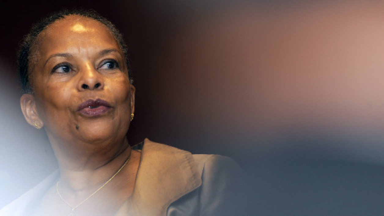 "Christiane Taubira, insultée de ""guenon"" par des enfants. (Photo d'illustration)"