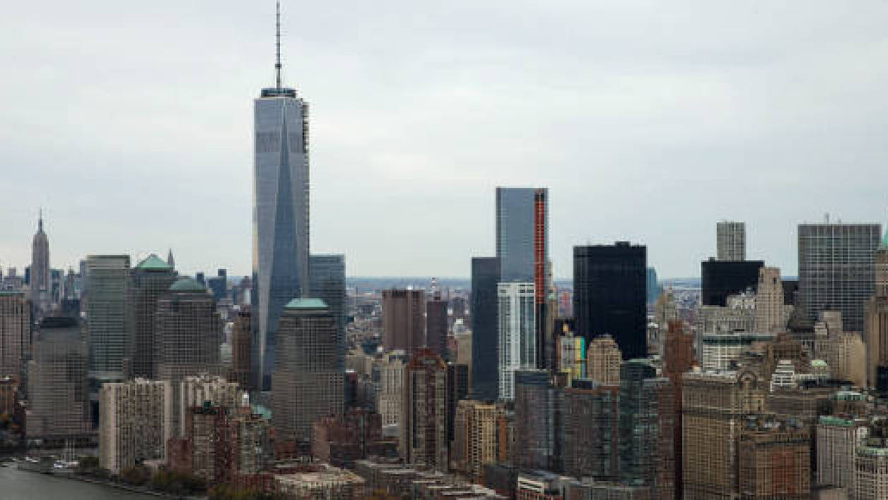 La One World Trade Center est le gratte-ciel le plus haut des Etats-Unis.