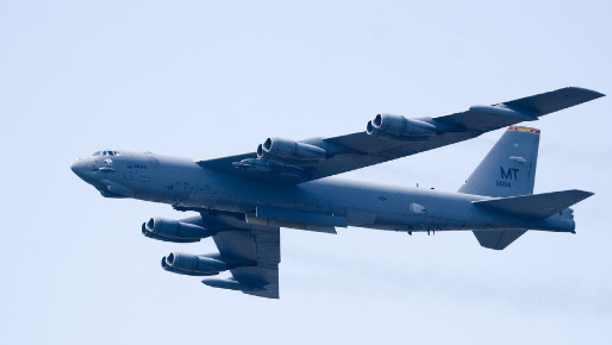Un B-52 américain (Photo d'illustration)