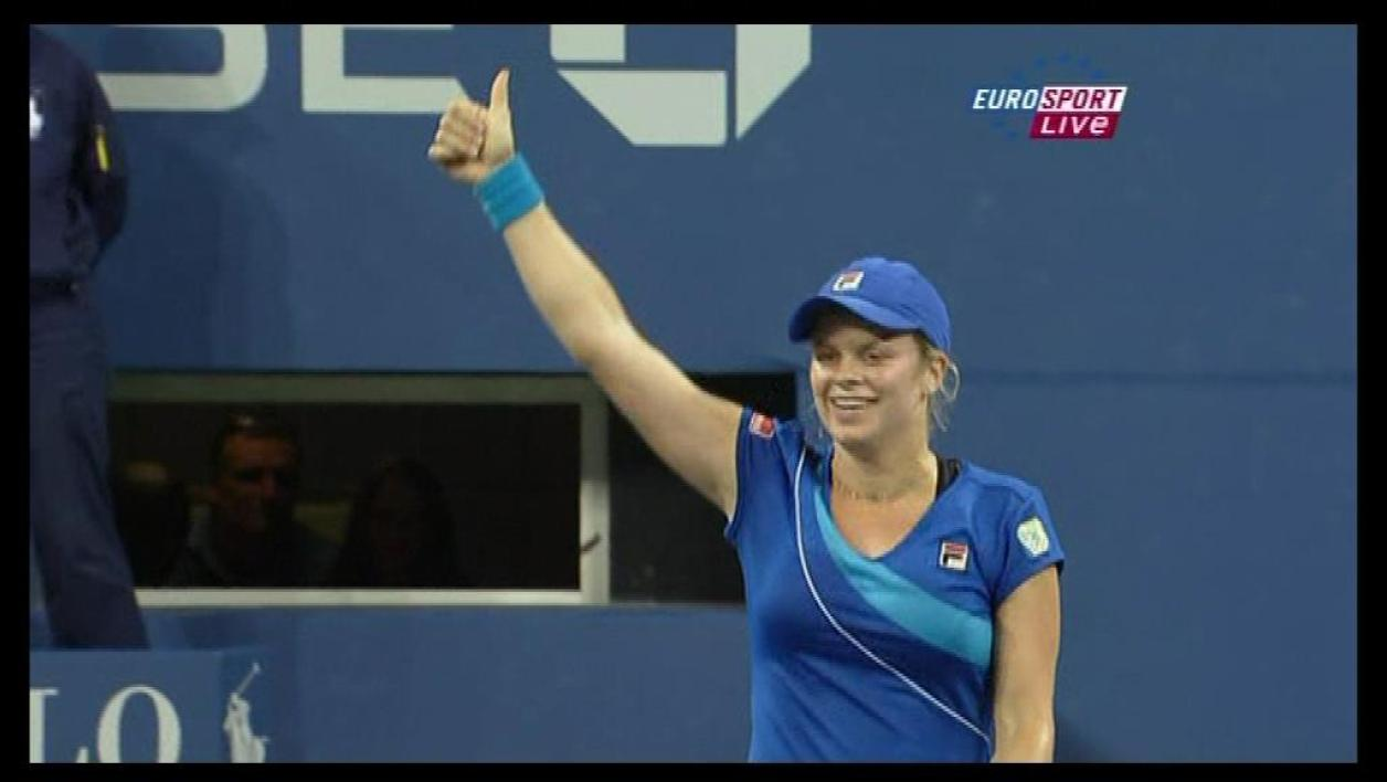 Kim Clijsters remporte l'US Open