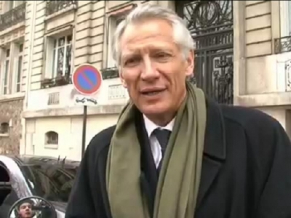 Réaction exclusive de Villepin sur BFMTV