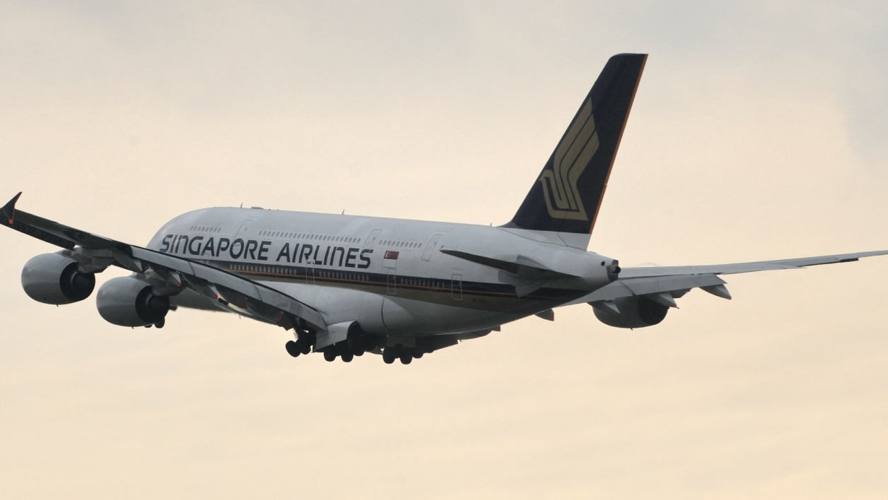 Un A380 de la compagnie Singapore Airlines, en 2010. (photo d'illustration)