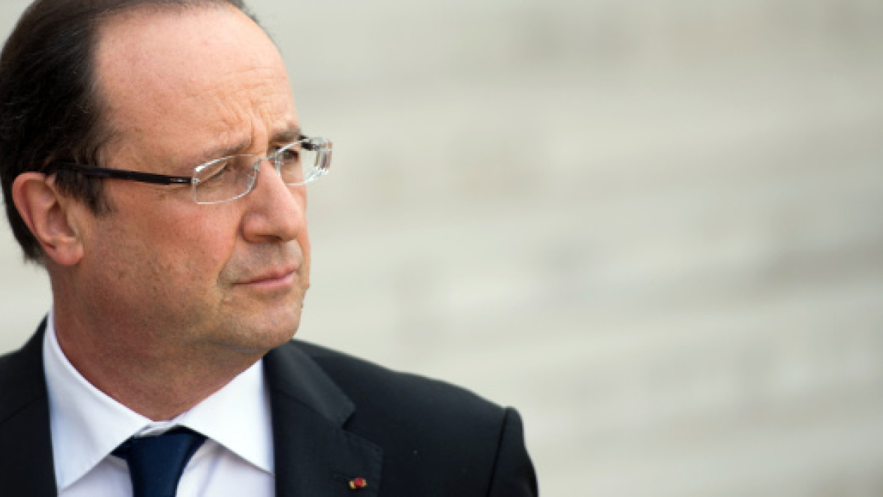 François Hollande le 13 avril 2013.