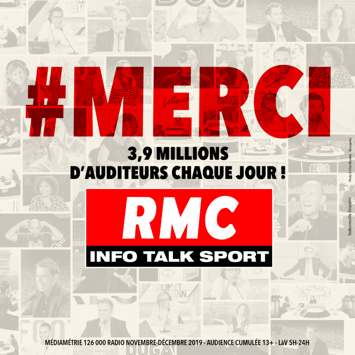 AUDIENCES RADIO - RMC 2ème radio privée de France