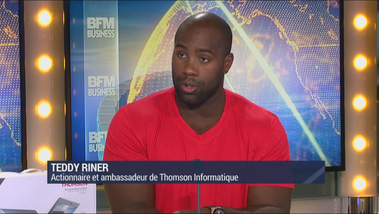 Teddy Riner était l'invité de BFM Business.
