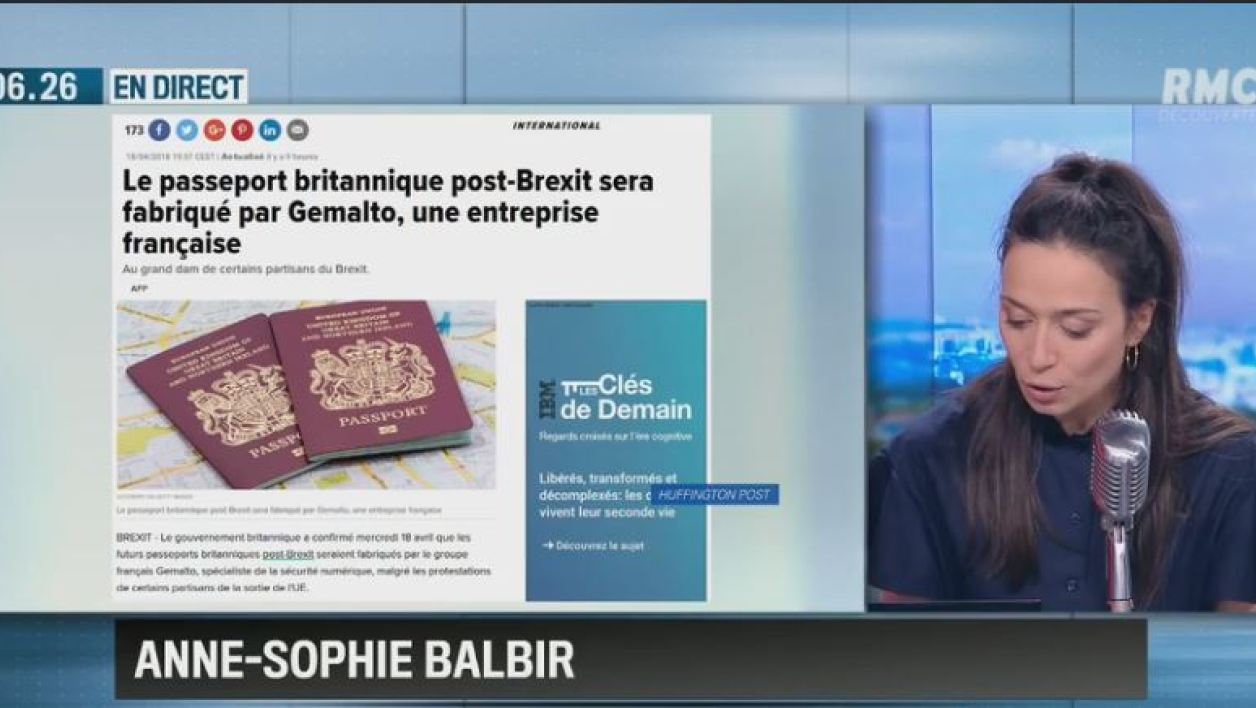 Le passeport britannique post-Brexit sera fabriqué... en France