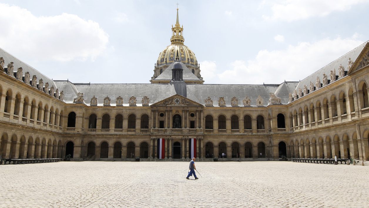 La cour des Invalides (photo d'illustration)