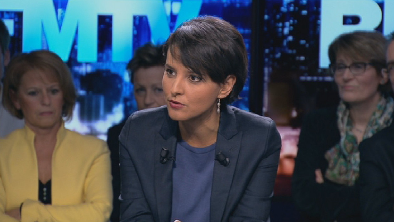 Najat Vallaud-Belkacem, la ministre de l'Education nationale