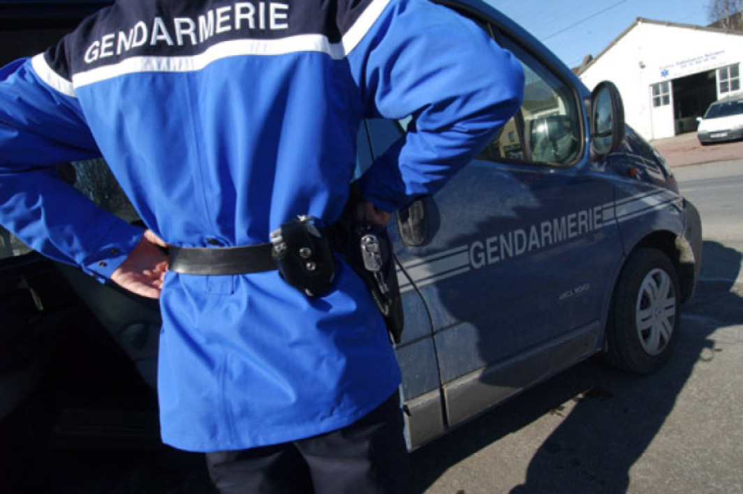 Un gendarme, image d'illustration