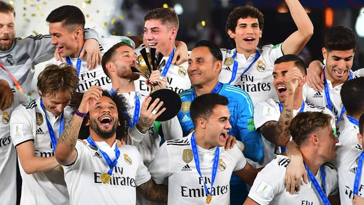 Le Real Madrid, champion du monde des clubs 2018.