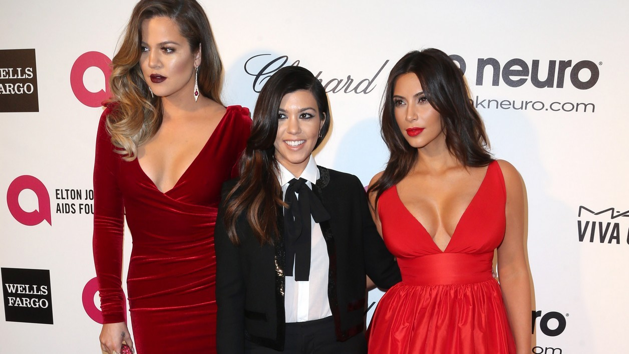 Khloe, Kourtney et Kim Kardashian à Los Angeles.