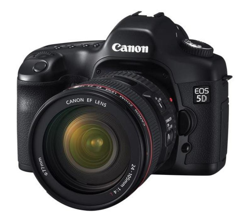Canon EOS 5D + zoom 24-105 mm IS USM L