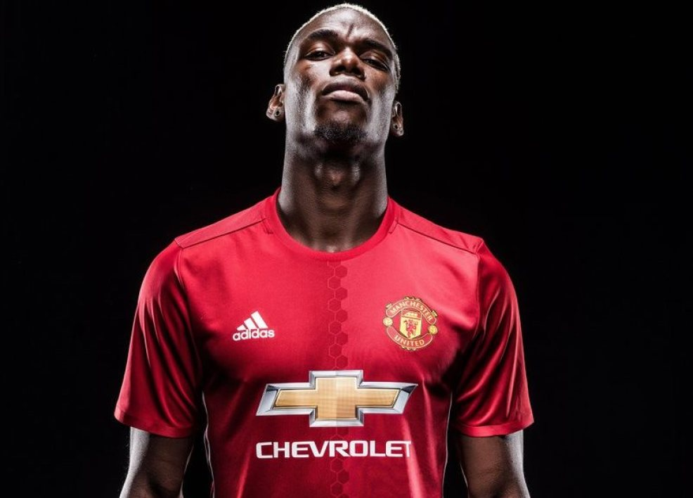 Paul Pogba à Man Utd