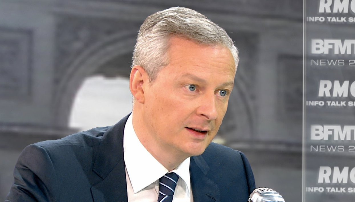 Bruno Le Maire face à Apolline de Malherbe : le retweet de l'interview