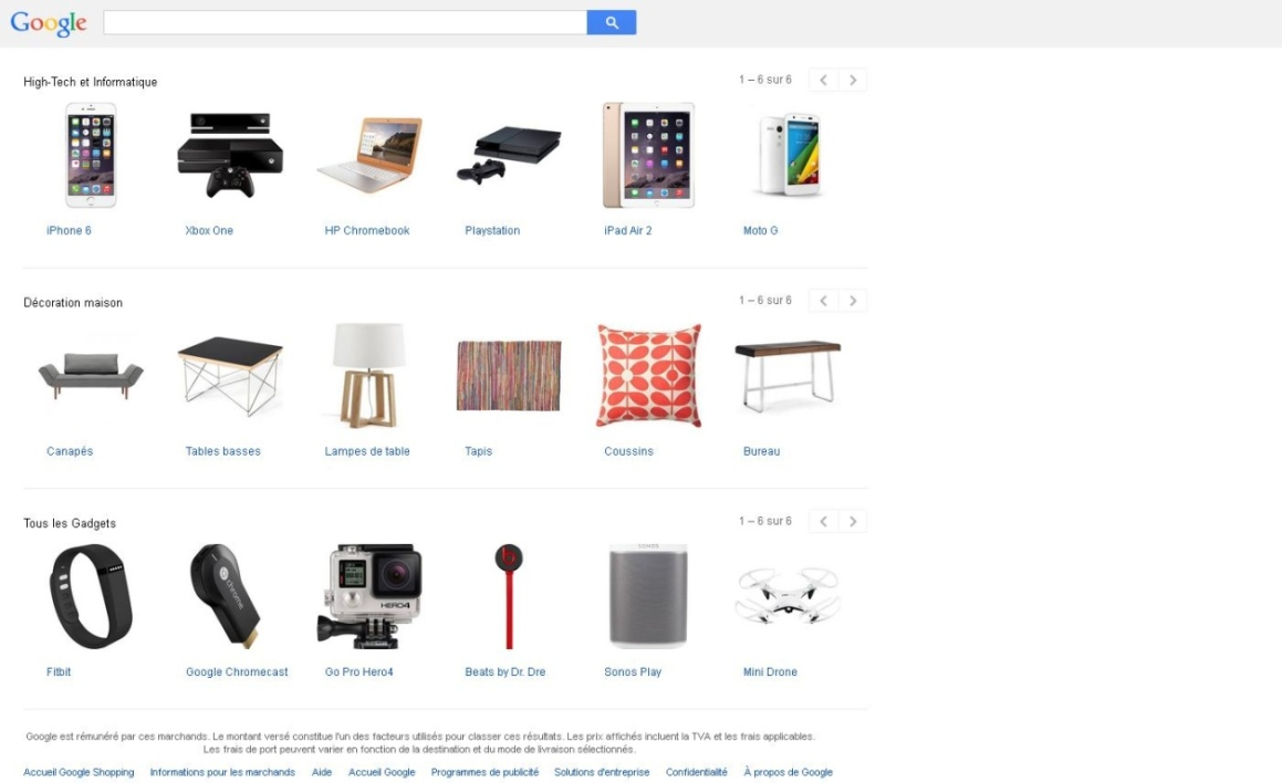 "Google va avoir un bouton ""buy"""