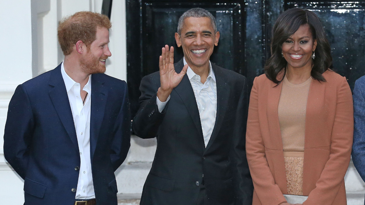Le prince Harry et les Obama