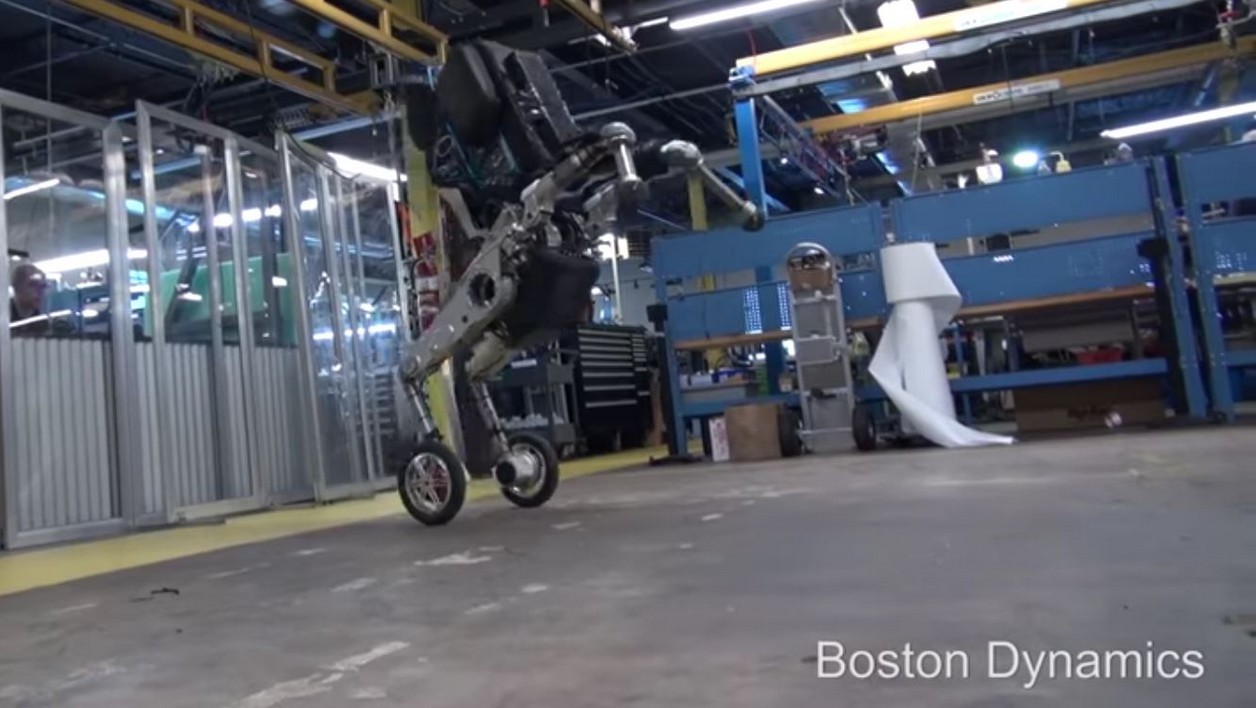 Le nouveau robot Handle de Boston Dynamics.