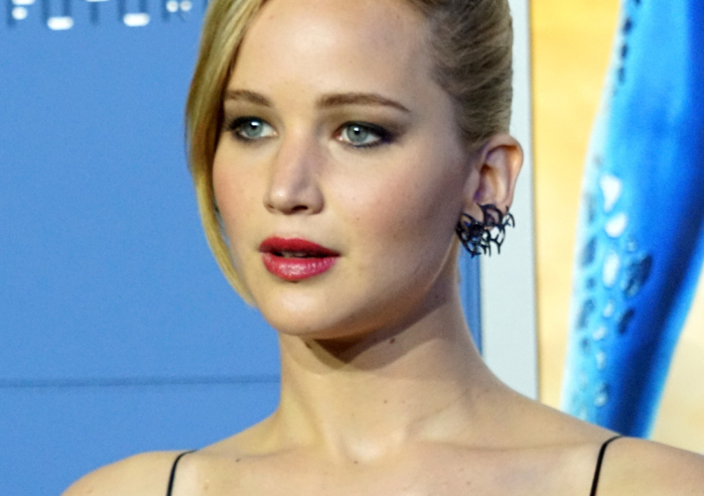 "Jennifer Lawrence, le 10 mai 2014, à l'avant-première de ""X-Men, Days of Future Past"""