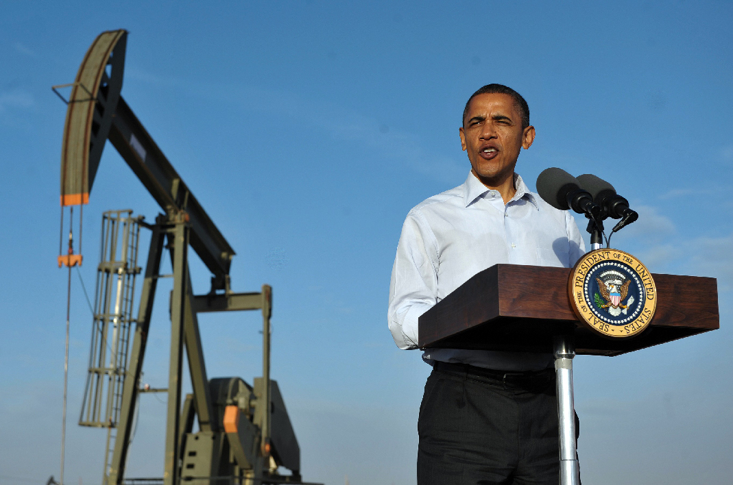 Barack Obama pétrole oil