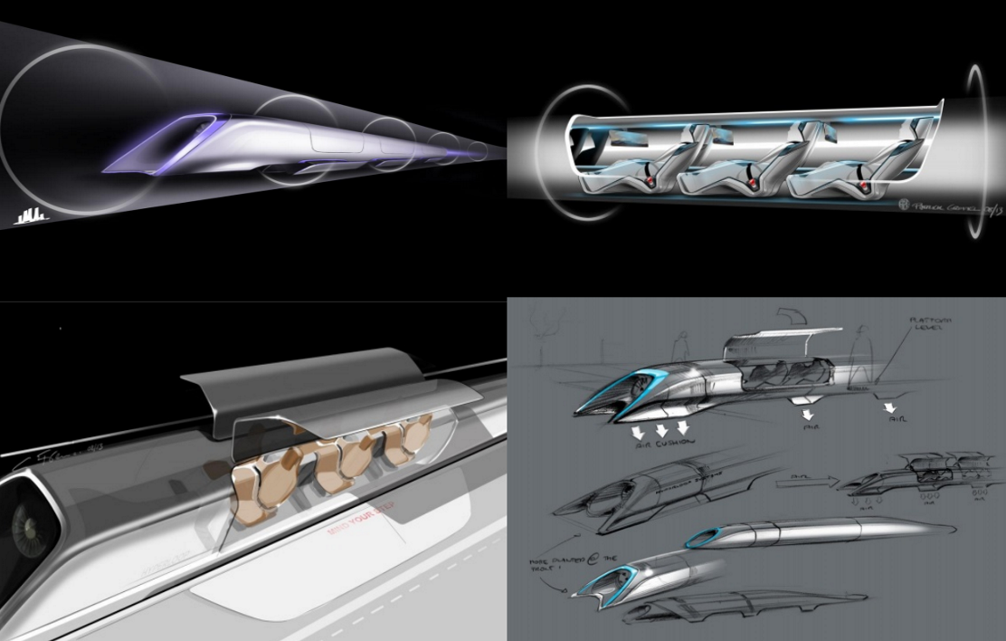 L'hyperloop pourrait devenir le train du futur.