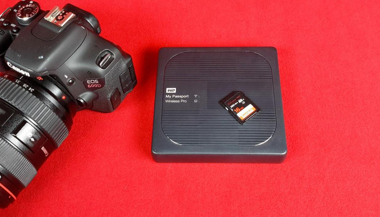 WD My Passport Wireless Pro 2 To