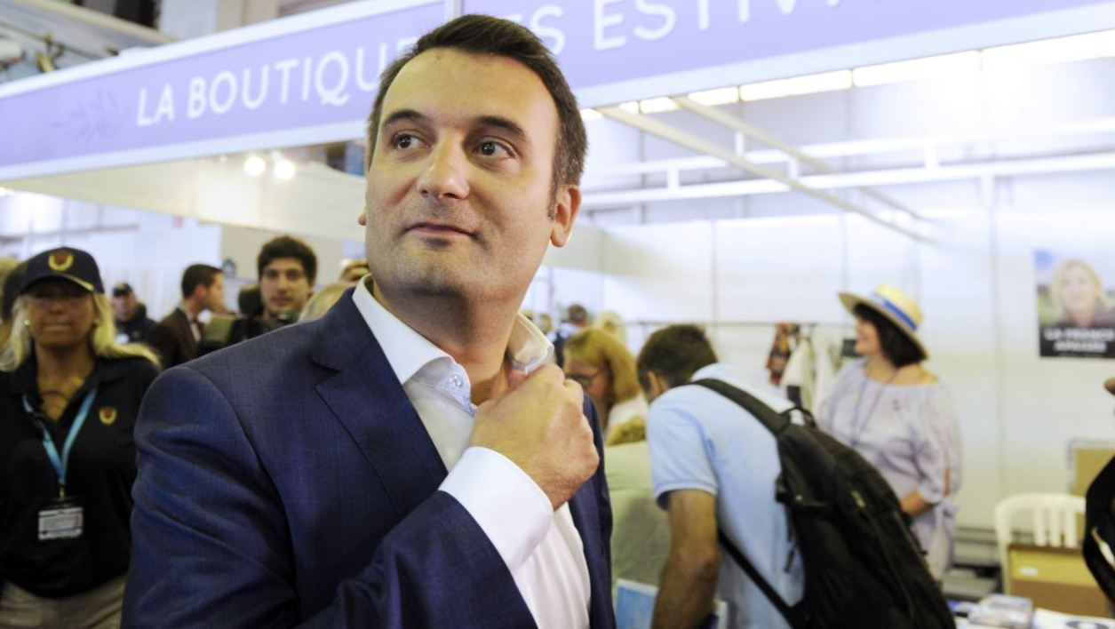 French far-right Front National (FN) party vice-president Florian Philippot attends the Front National summer congress in Frejus, southern France, on September 17, 2016.  Franck PENNANT / AFP