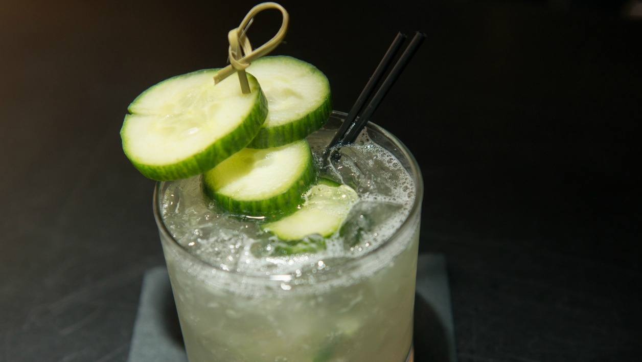 Un cocktail à New York en avril 2016.