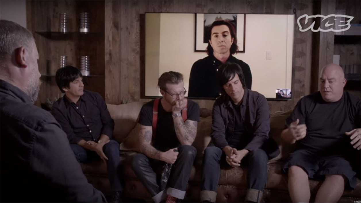Les Eagles of Death Metal, lors de leur interview accordée à Vice.