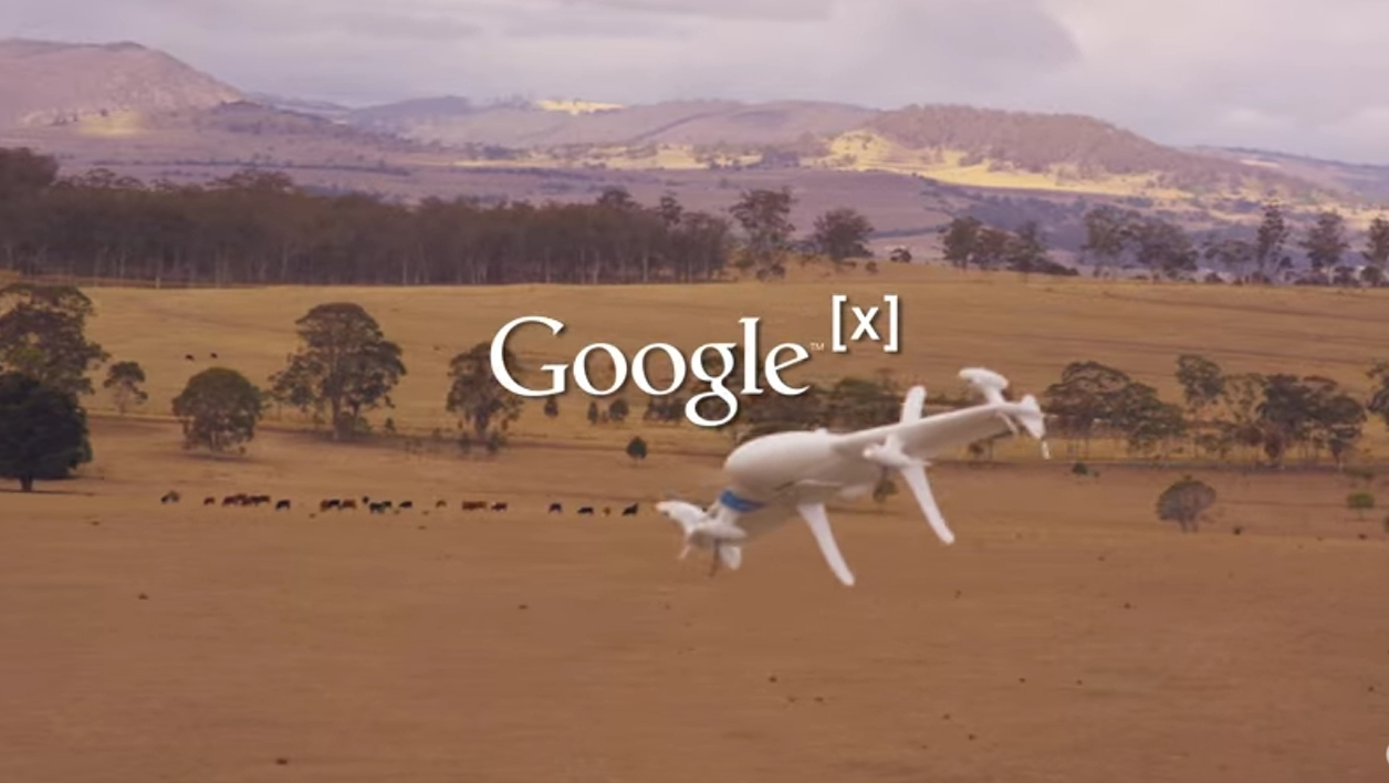 Google Alphabet Project Wing Drone