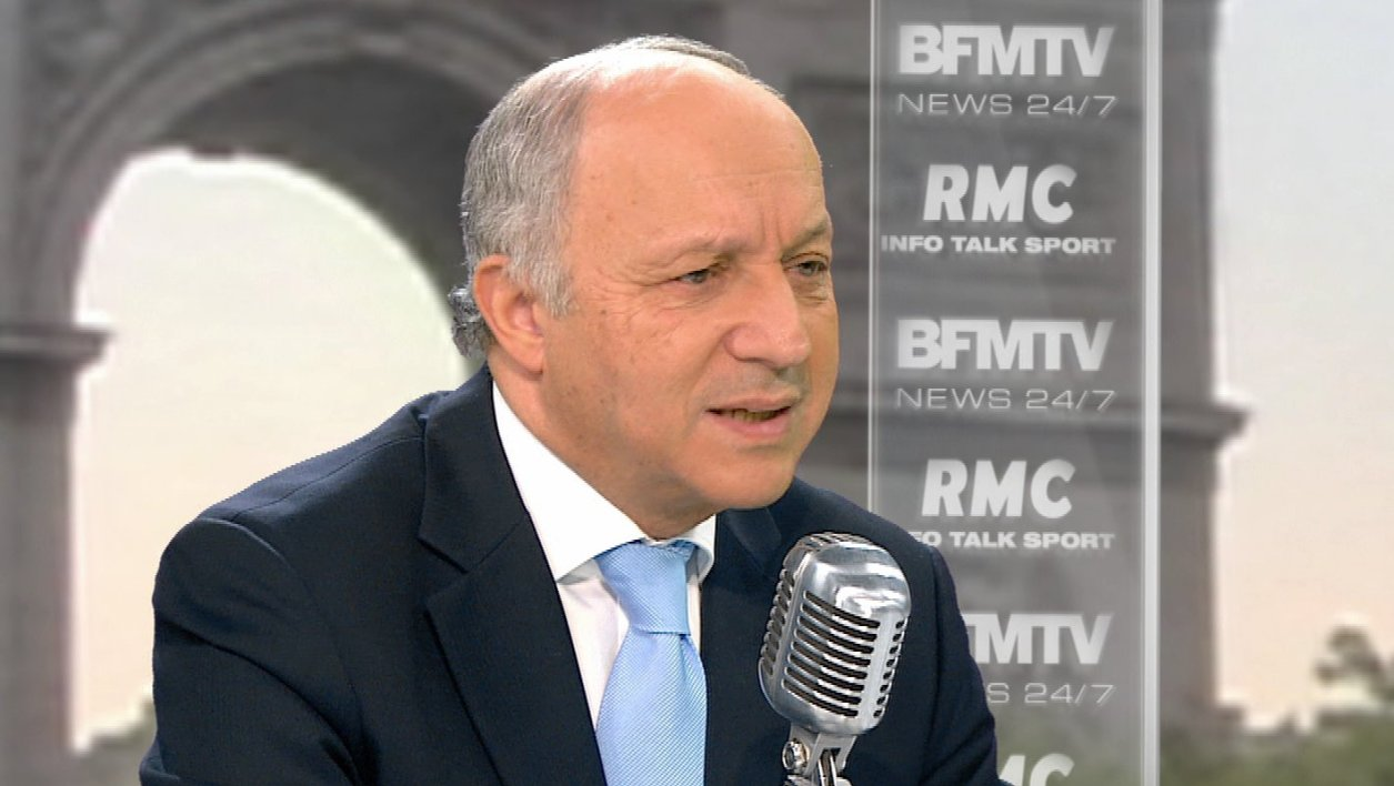 Laurent Fabius face à Jean-Jacques Bourdin: le retweet de l'interview
