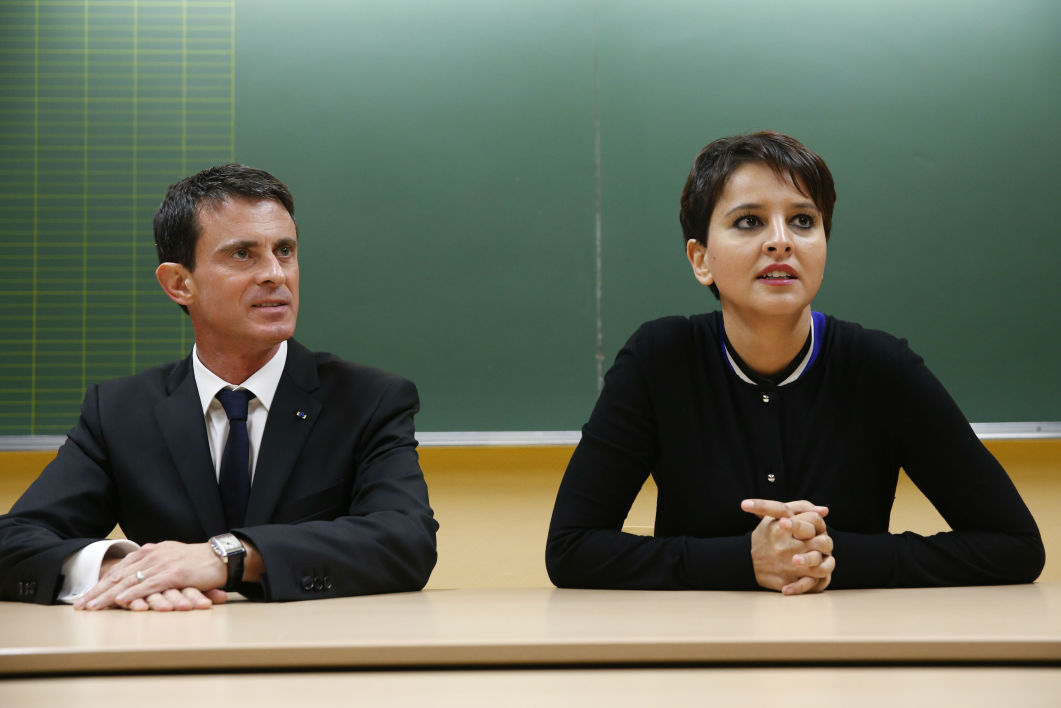 Najat Vallaud-Belkacem soutient Manuel Valls dans sa course à l'élection présidentielle. (Photo d'illustration)