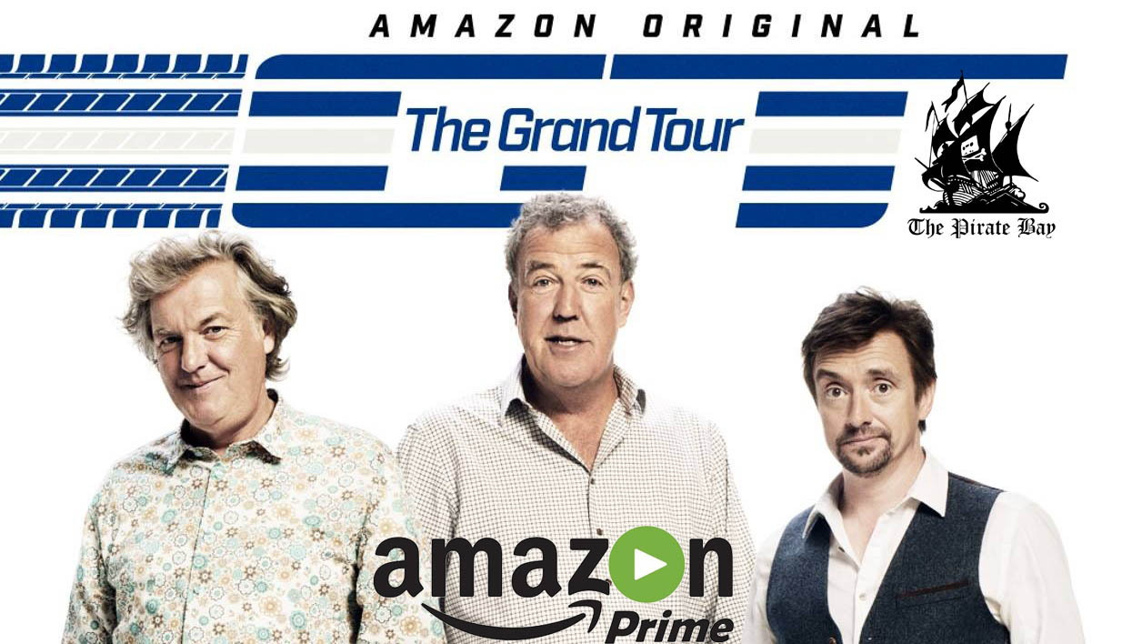 The Grand Tour: le Top Gear d'Amazon serait l'émission la plus piratée au monde