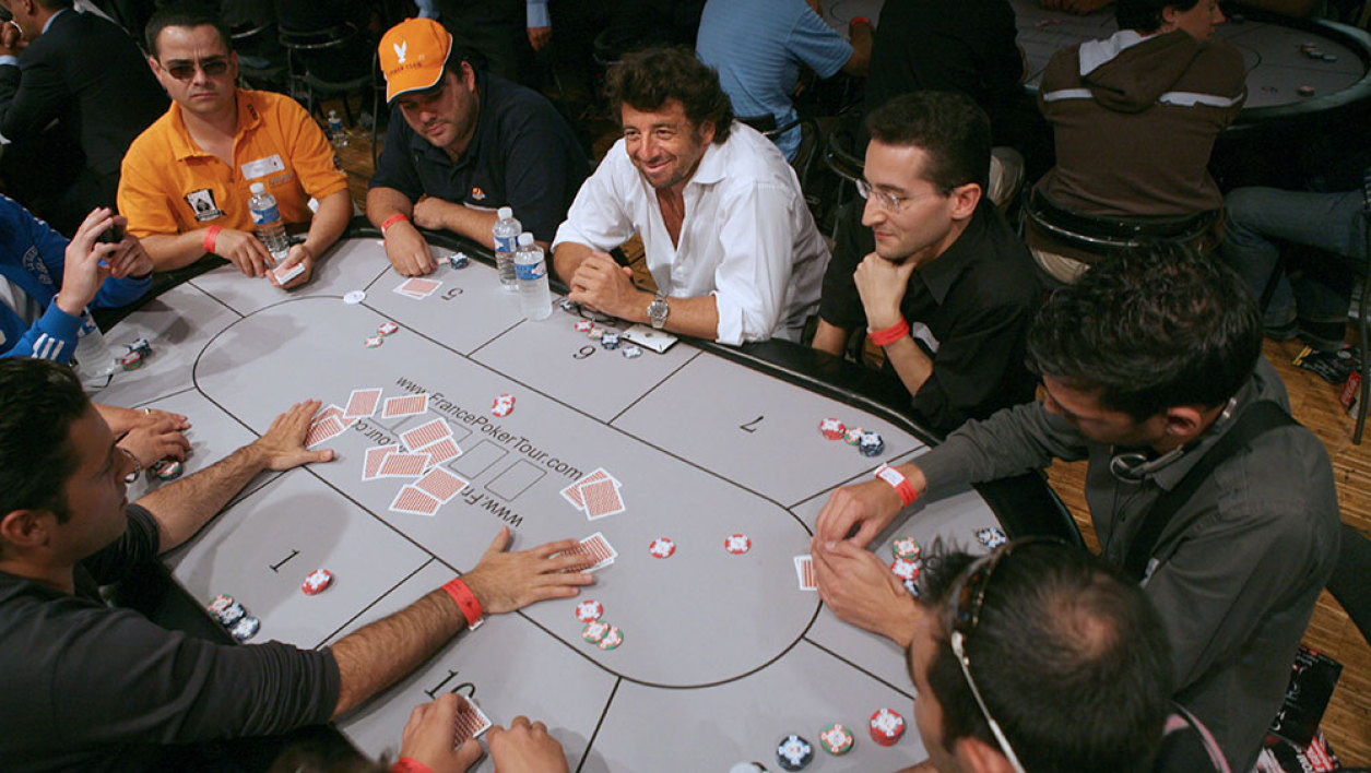 Patrick Bruel au France Poker tour