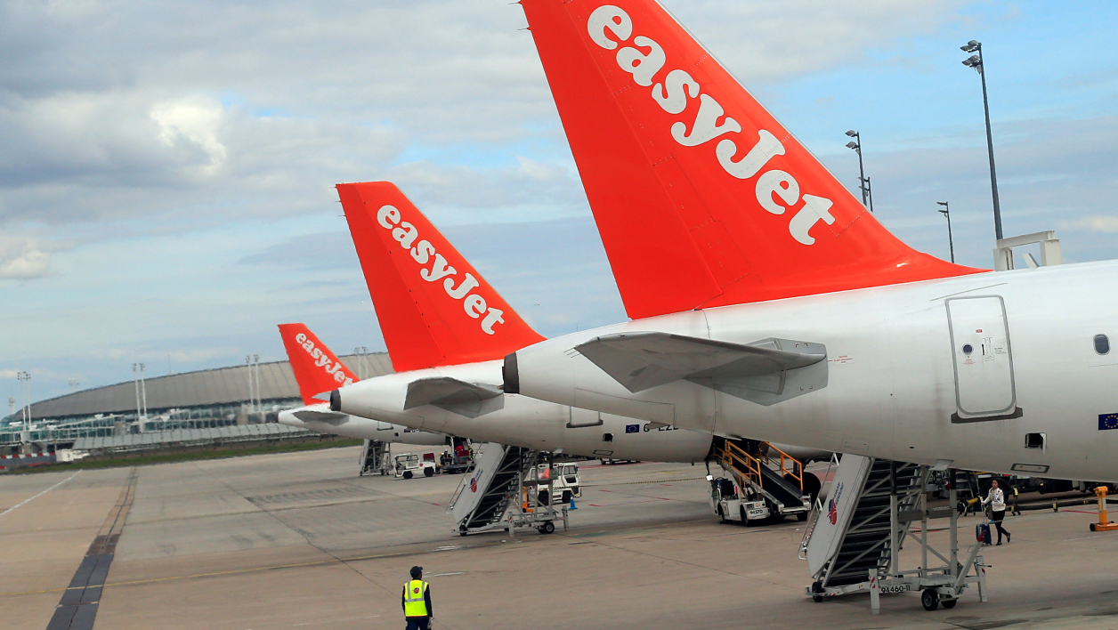 Easy Jet annonce l'annulation d'une quarantaine de vols le 26 décembre 2014 (photo d'illustration).