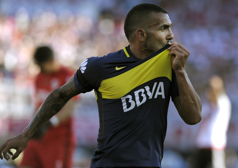 La somme folle qui attend Carlos Tevez en Chine