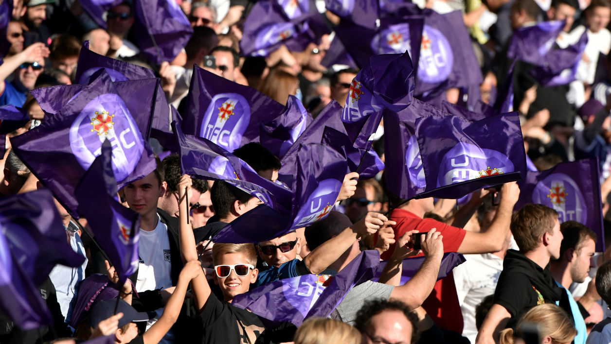 Toulouse FC supporters