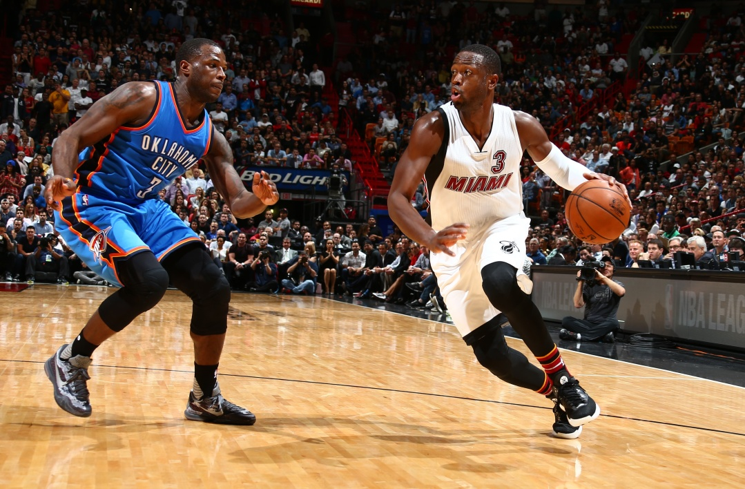 EN VIDEO - NBA : Dwyane Wade éteint OKC